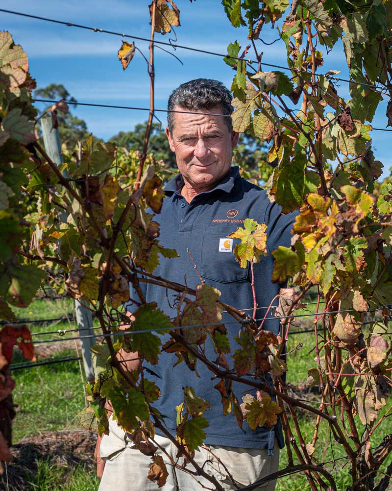 Mike Sleegers - McHenry Hohnen Viticulturist